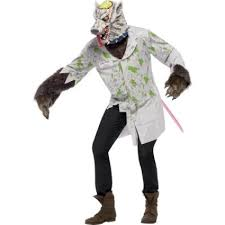 halloween lab mens halloween experiment lab rat fancy dress costume 20455