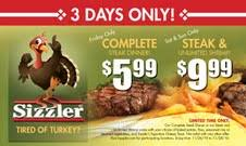 thrifty deal at sizzler a thrifty recipes crafts diy and