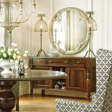 Mirror Over Buffet by Arhaus Clover Mirror 43