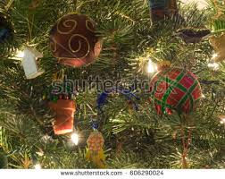 ornaments decorations usually made glass stock photo