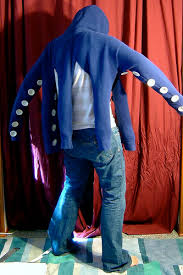 Squid Halloween Costume Octopus Hoodie 6 Steps Pictures