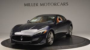 maserati granturismo black 2017 2017 maserati granturismo sport stock m1645 for sale near
