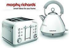 Morphy Richards Accent Toaster Morphy Richards Stainless Steel Tea Kettle U0026 Toaster Sets Ebay