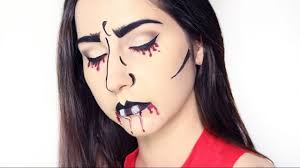 Vampire Halloween Makeup Tutorial Pop Art Vampire Halloween Makeup Tutorial Youtube