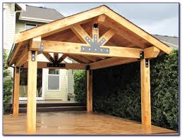 Patio Cover Plans Free Standing by Beautiful Solid Wood Patio Covers Outdoor Living Space With