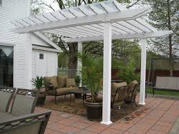 Lattice Pergola Roof by Pergola Design Ideas Pergola Off House Breathtaking Design Walnut