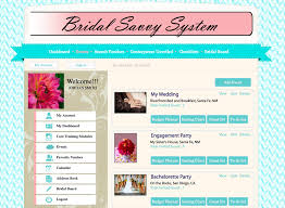 online wedding planner introducing eventista couture s bridal savvy system classic