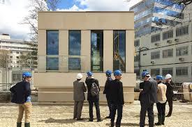siege sociale banque populaire a facade prototype for the casden banque populaire headquarters
