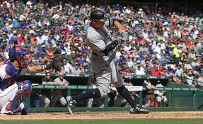 Aaron Judge Joins An Exclusive Club Of Yankees All Stars Pinstripe - aaron judge hits 40th 41st home runs as yankees crush rangers