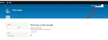 theme drupal menu block quick edit context menu not visible in the user account menu in