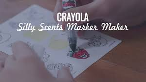 scented writing paper crayola silly scents marker maker demo speaking youtube crayola silly scents marker maker demo speaking