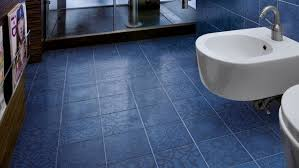 bathroom trendy bathroom floor tile blue color ideas