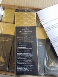 titan gel gold титан гел голд ограничена лимитирана серия без аналог