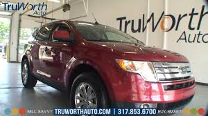 2007 ford edge sel panoramic vista roof aux input truworth