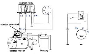 3 typical car starting system diagram t u0026x