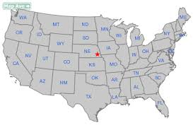map usa place place city ne information resources about city of