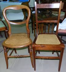 Edwardian Bedroom Furniture by A Pair Of Victorian Cane Seat Balloon Back Bedroom Chairs An