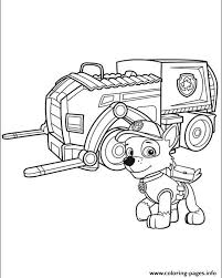 paw patrol 8 coloring pages printable
