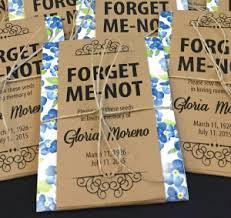Memorial Service Favors Gloria U0027s Garden U2013 A Memorial Service Boutique Funeral Favors U0026 Gifts