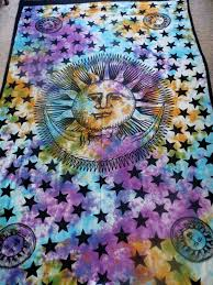 Sun And Moon Bedding Bedroom Stupendous Tie Dye Bedroom Bedding Furniture Beautiful