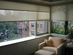 Solar Powered Window Blinds Diy Motorized Double Roller Shade Dual Blinds