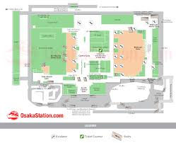 Floor Plan Of A Bakery by Osaka Station Map U2013 Finding Your Way U2013 Osaka Station