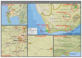 Map South Africa Maps And Graphs Uforsa