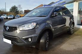 ssangyong korando used 2017 ssangyong korando elx for sale in cambridgeshire