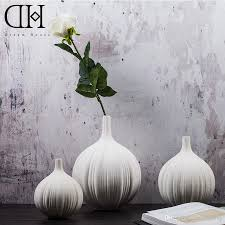 Modern White Home Decor by Dh Tabletop Modern White Ceramic Vase Home Decorative Simple