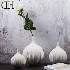 Modern White Home Decor by Dh Tabletop Modern White Ceramic Vase Home Decorative Simple
