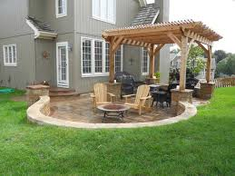 fancy concrete patio ideas for small backyards 39 about remodel