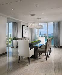 Beautiful Modern Dining Rooms Gallery Moder Home Design Riterus - Modern dining rooms