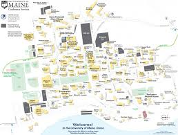 Map Maine Campus Map And Directions Conferences And Institutes