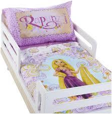 Tangled Bedding Set Disney Rapunzel 4 Toddler Set Purple