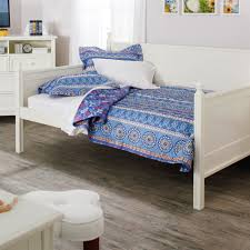 Wood Day Bed Full Size White Wood Daybed With Pull Out Trundle