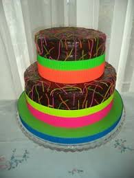 neon birthday cakes for teen girls source http 25 media