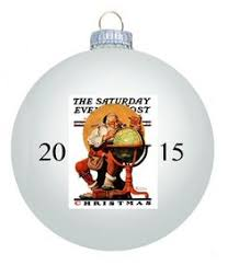 norman rockwell 2015 ornaments are now in stock