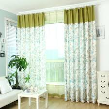 quality linen and cotton decorative country style curtains