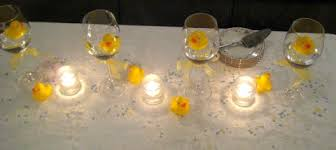 duck decorations yellow rubber duck baby shower centerpiece idea