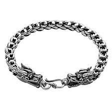 dragon bracelet silver images Sterling silver dragon bracelet handmade vintage 925 jpg