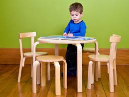 Kids Wood Table And Chair Set Mocka Hudson Kids Table And Chairs Children U0027s Furniture