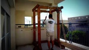 the best homemade gym power rack youtube