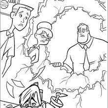 incredibles 23 coloring pages hellokids