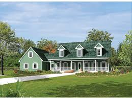 home plans with front porches berryridge cape cod style home plan 068d 0012 house plans and more