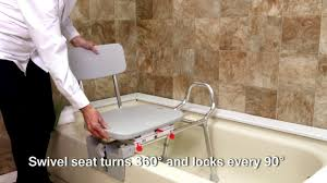 77762 tub mount swivel sliding bath transfer bench by eagle