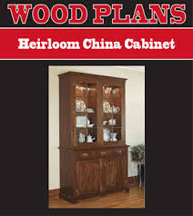Free Woodworking Plans For Display Cabinets by China Cabinet Plans