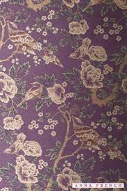 anna french wallpaper and fabric wild flora bouquet chalk