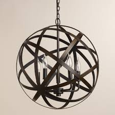Orb Chandelier Fascinating Orb Chandelier In Inspirational Home Designing With