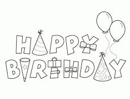 template happy birthday card printable coloring page coloring