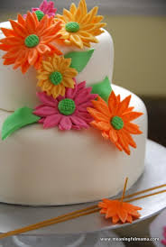 birthday flower cake cake and flowers for birthday